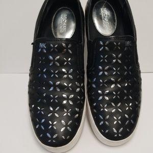 Michael Kors Leather Slip On Seakers
